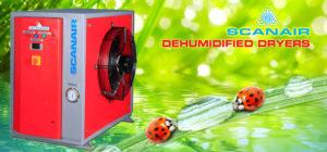 Scanair Dehumidified Dryers