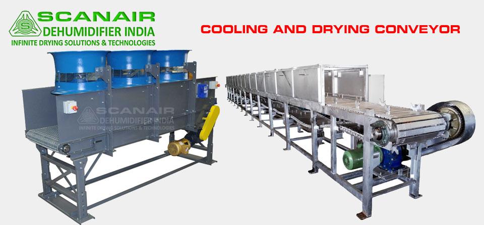 Cooling And Drying Conveyor Dehumdifier India